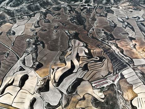 """Dryland Farming #19"" was also taken in northeastern Spain."