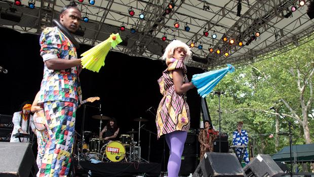 Ebony Bones performed at Summerstage in Central Park on June 5.