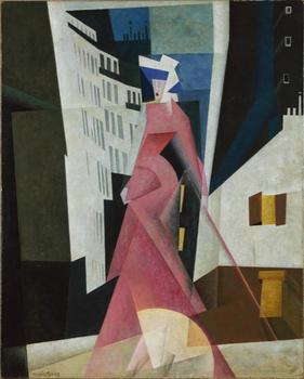 Lyonel Feininger was a celebrated painter in Germany in the '20s, but was forced to flee when Hitler took a dislike to modernism and branded him a degenerate artist. Above, a work from 1922.