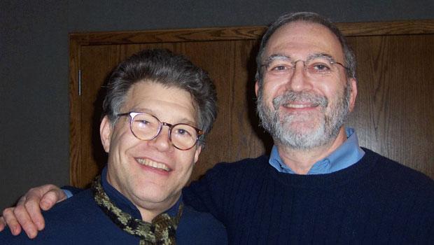 Al Franken and Leonard Lopate (2005)