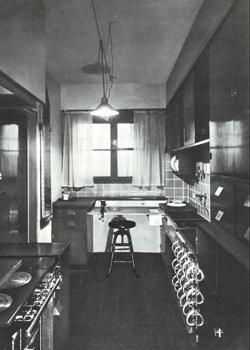 the conventional fitted kitchen thats found in almost every modern home is based on the frankfurt kitchen designed in germany in 1926