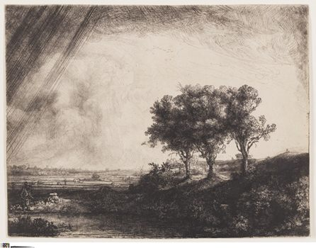 <em>Landscape with Three Trees</em>, 1643