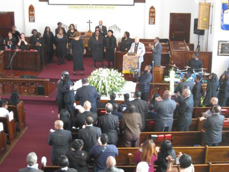 Funeral service for Ramarley Graham.