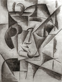 """Head"" by Lyubov Popova"