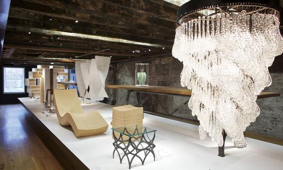 "An exhibit called ""Made in New York"" will also be on view, which shows pieces by New York City furniture and clothing designers."
