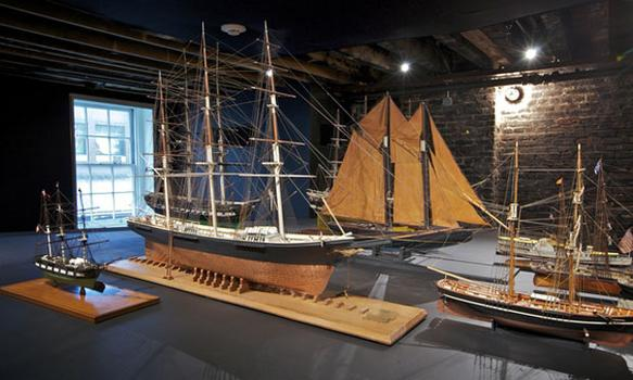 As are the model ships.
