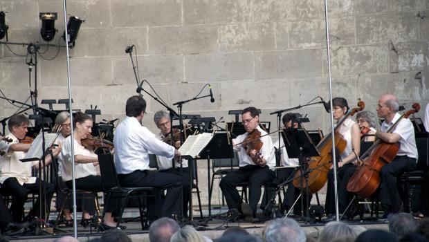 The Orpheus Chamber Orchestra makes its Naumburg Bandshell debut.