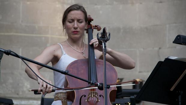 Cello soloist Julia MacLaine.