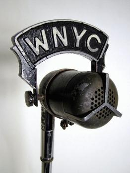 "WNYC Western Electric 633A ""Salt Shaker"" Microphone"