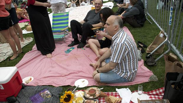 Picnickers.