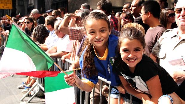 """Today is about celebrating Christopher Columbus, who was Italian,"" said this ten year old, matter-of-factly."