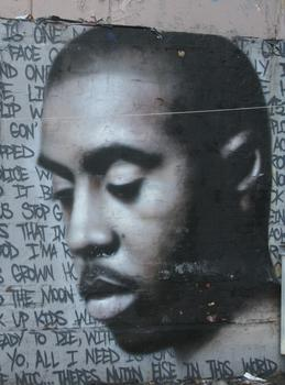 An homage to rapper Nas.