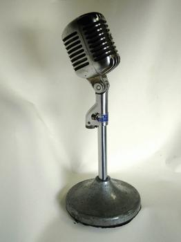 "WNYC Shure 55 ""Elvis"" Microphone"