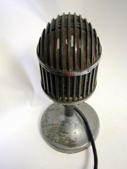 "WNYC Altec (Western Electric) 639A ""Bird Cage"" Microphone"