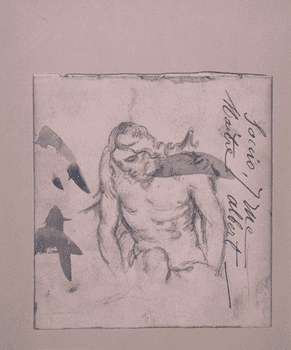 Paul Cézanne (1839–1906) after Alonso Cano (1601–1667) <em>Dead Christ</em>, 1882–1890
