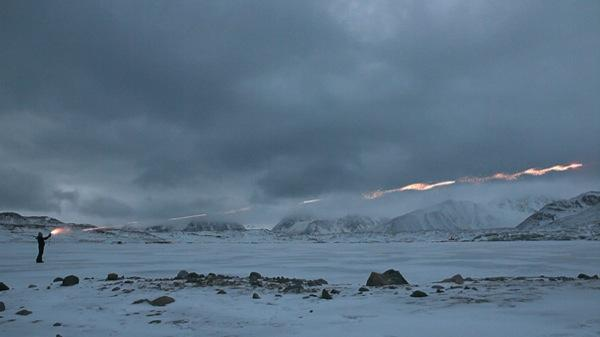 In a new display at Edward Winkleman Gallery, artist Janet Biggs takes on the Arctic in a video trilogy that explores themes of survival, mortality, isolation and some incredibly cold landscapes.