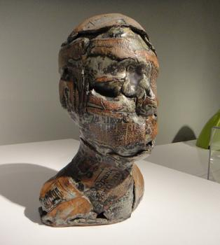 "MAD's exhibit contains a number of pieces that show the way in which clay was used in unusual and avant-garde ways -- including John Stephenson's 1965 sculpture ""The Man."""