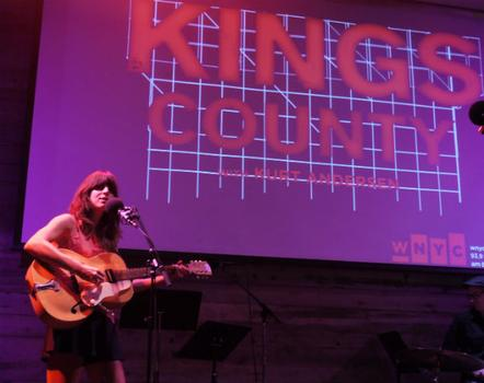 "Eleanor Friedberger returns to perform a cover of The Flatlanders song ""Dallas."""