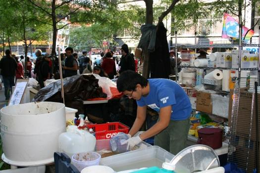 Kevin, CUNY Student Who Volunteered Washing Dishes