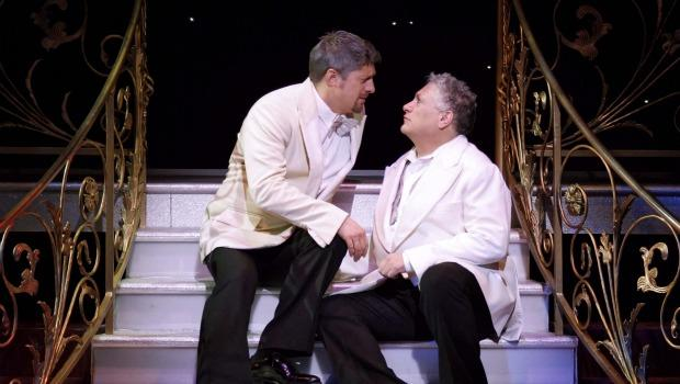 One of the things Vincentelli likes about this production is the tenderness on stage between the new leads, Christopher Sieber and Harvey Fierstein.