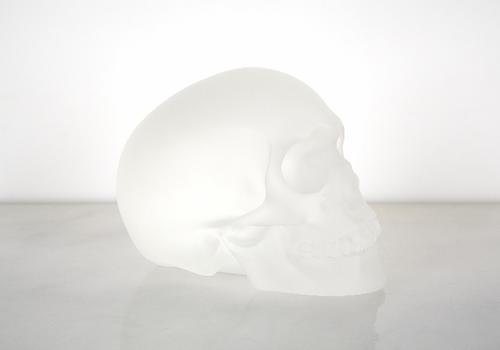 The exhibit at the Whitney will include Levine's classic reappropriations alongside recent works, such as 'Crystal Skull,' from last year.