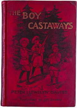 The Boy Castaways cover (Beineke Rare Book and Manuscript Library)