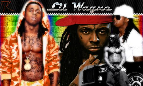 A fan collage of Lil' Wayne