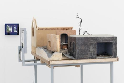 Other works in MAD's show deconstruct the idea of the diorama, while channeling themes related to decay. Above, Mariele Neudecker's 'Everything is Important and Nothing Really Matters At All.'