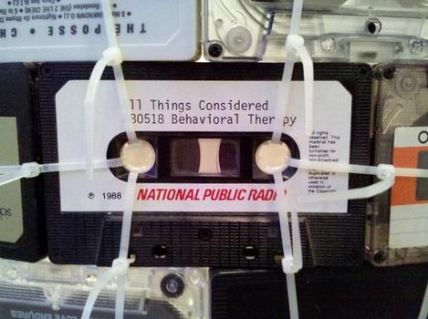 'Cuz I Can't Resist Some Self-Reference: Marclay's 'Loop' is made from dozens of old tapes -- including this cassette featuring NPR's 'All Things Considered.'