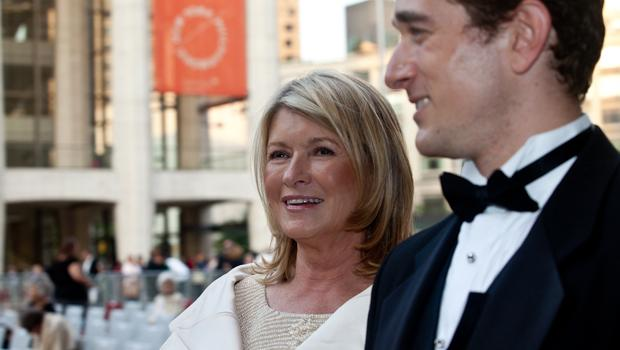 Martha Stewart arrives at the Met's opening night gala.