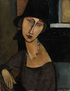 <em>Jeanne Hébuterne (au Chapeau)</em> by Amedeo Modigliani sold for $19,122,500. It had an estimated worth of between $9 and $12 million.