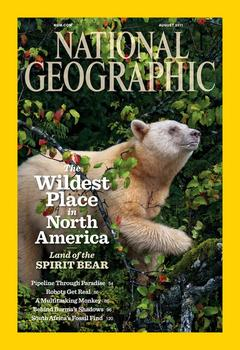 The August Issue of National Geographic Magazine