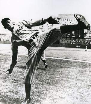 "This picture of Leroy Robert ""Satchel"" Paige, a right-handed pitcher who started his career playing with the Chattanooga White Sox of the Negro Southern League, is also on view at the museum."