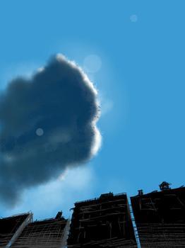 """""""New York Sky,"""" by Benjamin Rabe"""
