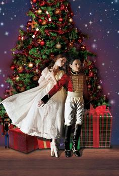 Catherine Hurlin and Philip Perez in the ABT's 'Nutcracker.'