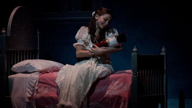 Clara and her doll in Alexei Ratmansky's new production.