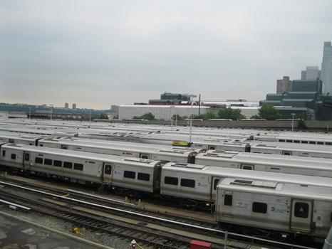 The West Side Rail Yards in Manhattan