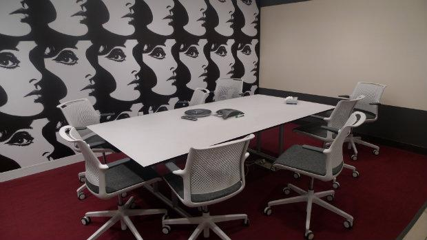 If workers need privacy, they can use a conference room; Gilt's conference rooms are named after cities and countries.
