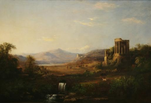 Nineteenth century African-American landscape painter Robert S. Duncanson gets his due at the Cole National Historic Site in the Hudson River Valley. Shown here: 'The Temple of Sybil,' 1859.