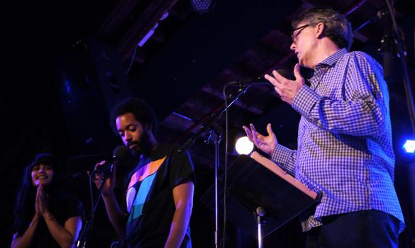 """Kurt Andersen quizzes Wyatt Cenac and an audience member about the particulars of modern food culture, from the definitions of """"local"""" to """"micro-brew"""" and more."""