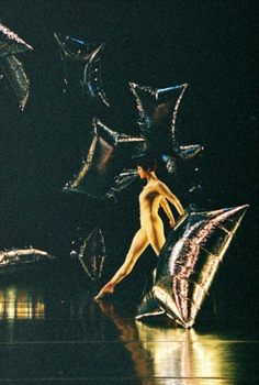 "The company performed ""Rainforest"" in 1968 against the backdrop of Andy Warhol's installation ""Silver Clouds."""