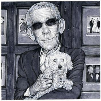Richard Belzer (and his dog), from <em>Even More Old Jewish Comedians</em>