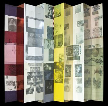 Also at ArtHamptons: 'Crystal Hive,' a 1978 silkscreen by Robert Rauschenberg, on view at Art Link International, a gallery from Florida.
