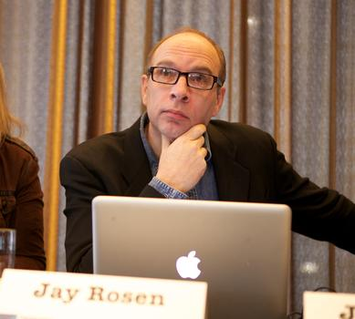 <strong>Jay Rosen, professor of journalism at New York University</strong>