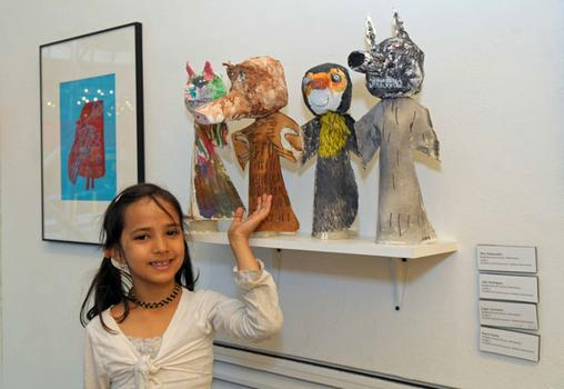 The pieces shown here were made by second-grader Jake Rodriguez, first-grader Elias dela Cuadra, first-grader Harini Burke and second-grader Logan Levinstim at The Neighborhood School in Manhattan.