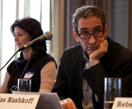 <strong>Doug Rushkoff, author of Program or Be Programmed</strong>