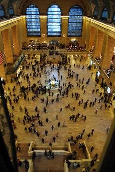 The Floor of Grand Central Terminal, viewed from the catwalk