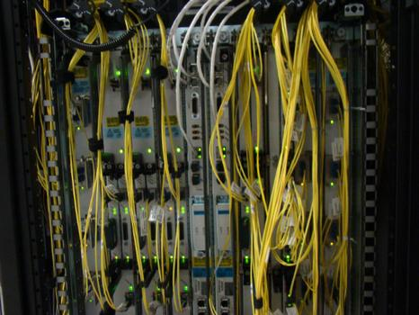 In its most basic form, the internet is made up of servers and fiber wiring that store and transmit information.