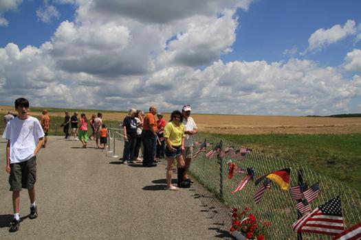 According to the National Park Service, more than 130,000 people visit the Flight 93 memorial each year.
