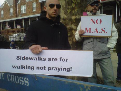 Opponents of the planned mosque argue that prayers will spill out onto the sidewalk
